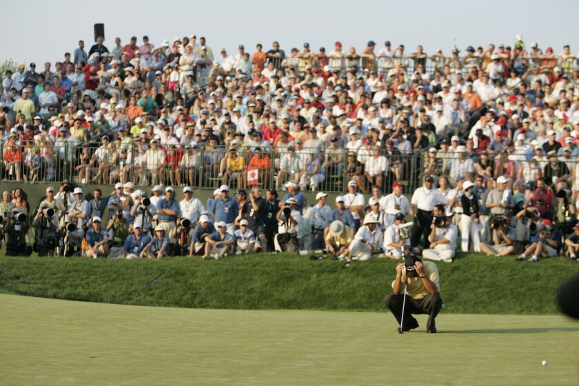 Phil Mickelson on 72nd hole at 2006 U.S. Open