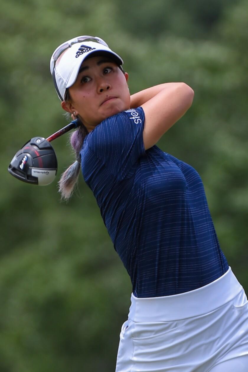 American Danielle Kang,  Solheim Cup