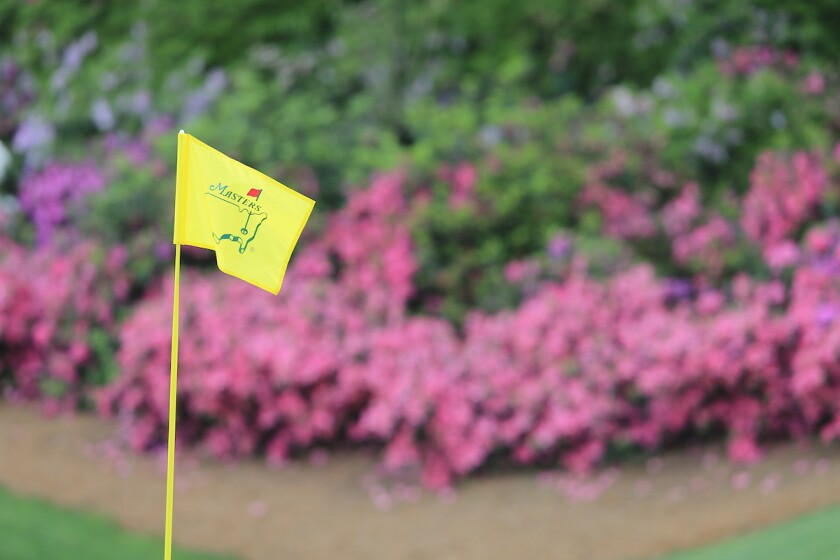 The Masters flag