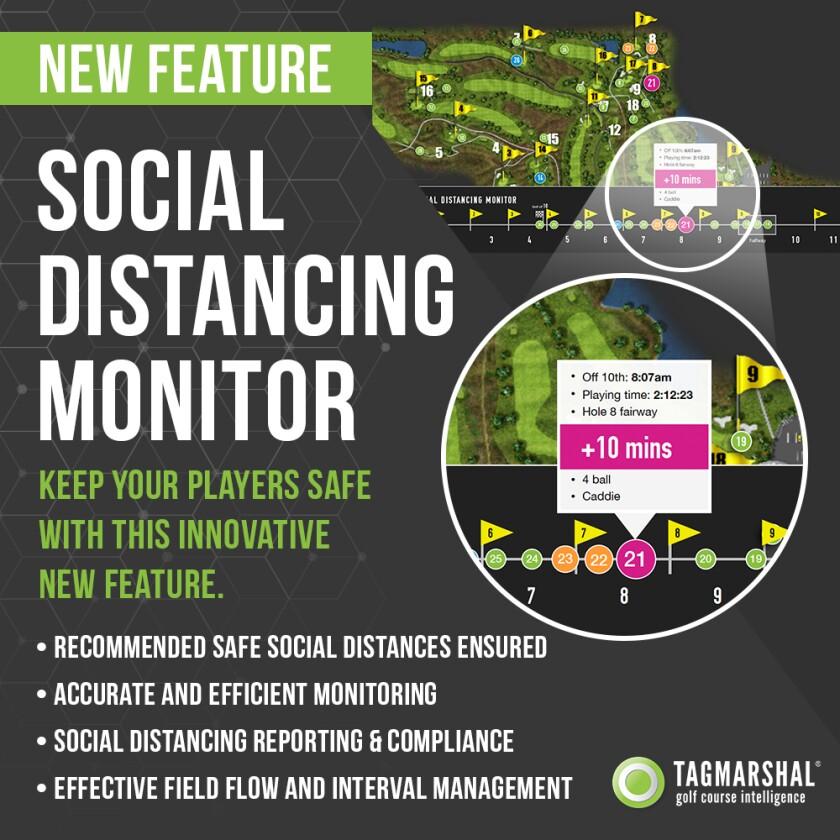 Tagmarshal Social Distancing Monitor