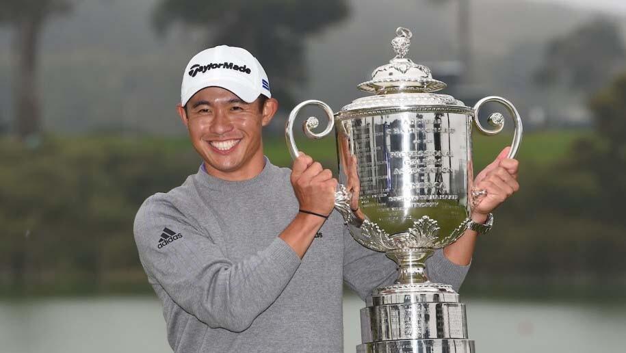 Collin Morikawa PGA Championship trophy