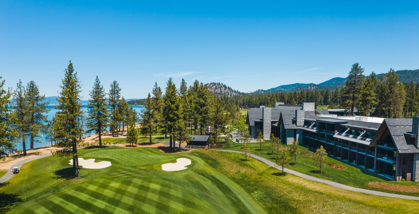 Edgewood Tahoe Resort — Aerial