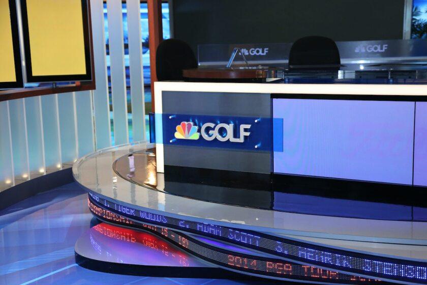 Golf Channel studio signage