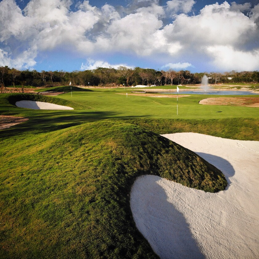 Wellness Golf — Bunker | Chable Resort