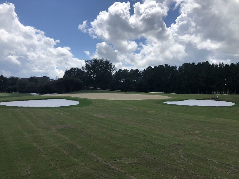 Savannah Quarters new practice tee and short-game area in Pooler, Ga.