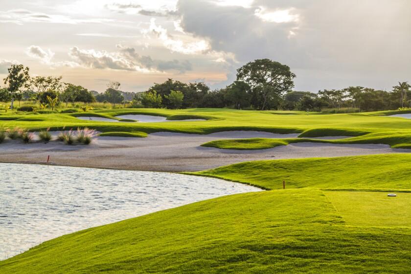 Buenaventura Beach & Golf Resort's Jack Nicklaus course