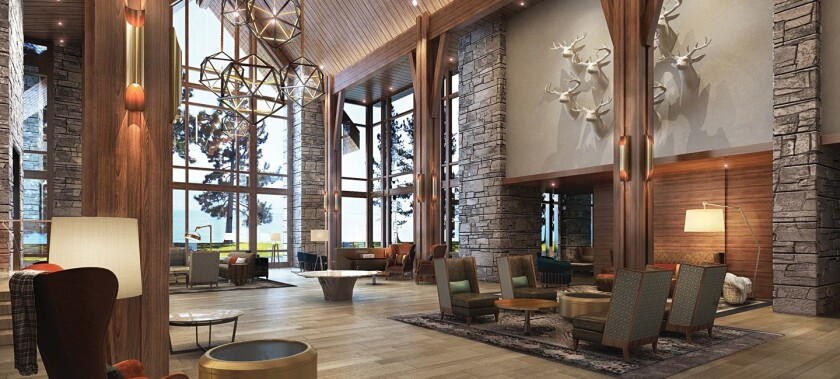 Edgewood Tahoe Resort — Lodge Lobby
