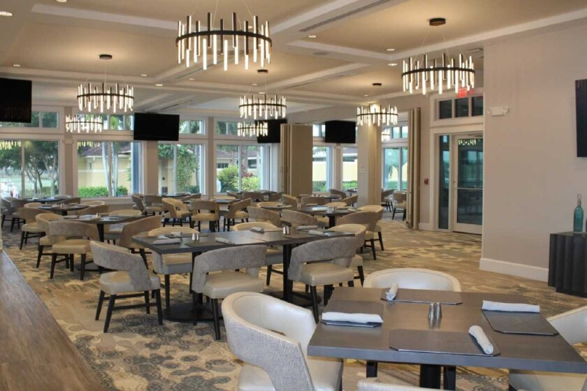 Colonial Country Club — Dining Room