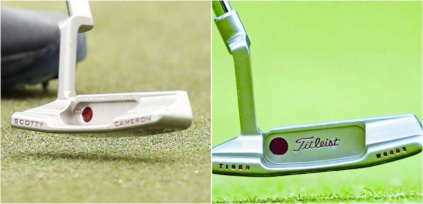 Tiger Woods — Scotty Cameron Putter Switch
