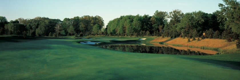 13th hole at Firestone Country Club's West Course