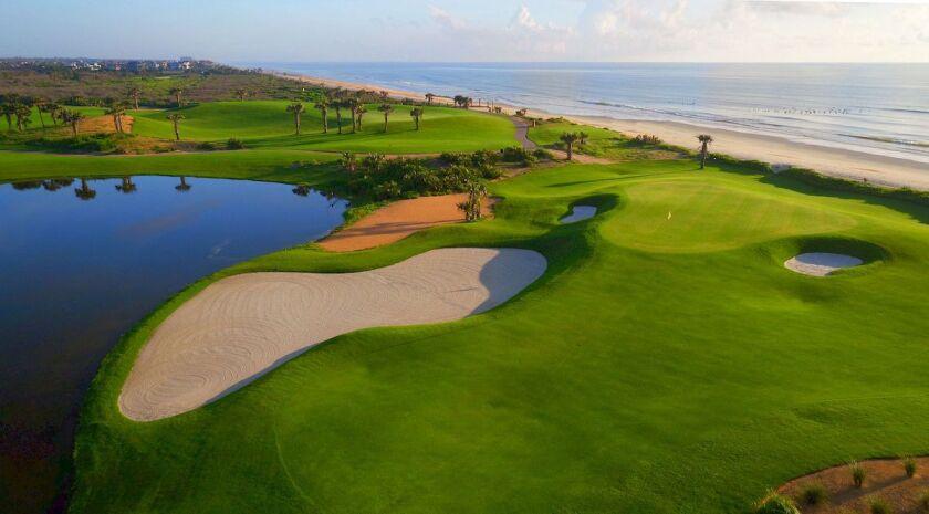 Hammock Beach Ocean Course 17th green