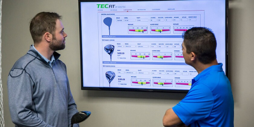 GOLFTEC TECFit Golf Club Fitting