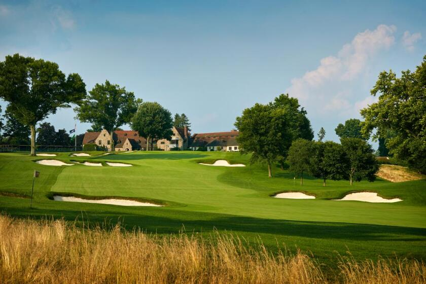 Aronimink Golf Club in Newtown Square, Pa.