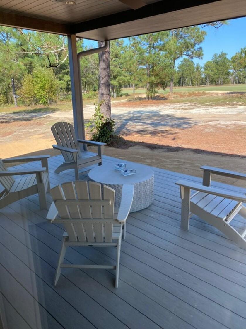 Dormie Club cottage porch