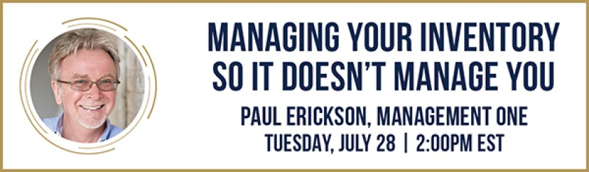 Paul Erickson banner for PGA Show Connects