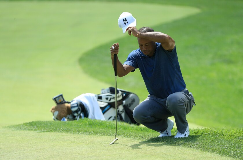 Tiger Woods Round 2 of the 2020 Memorial Tournament - Round Two