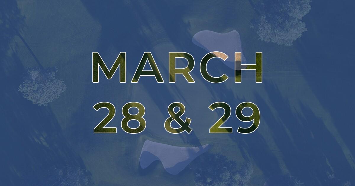 Golf News Hub - March 28th & 29th - Live COVID-19 Golf News