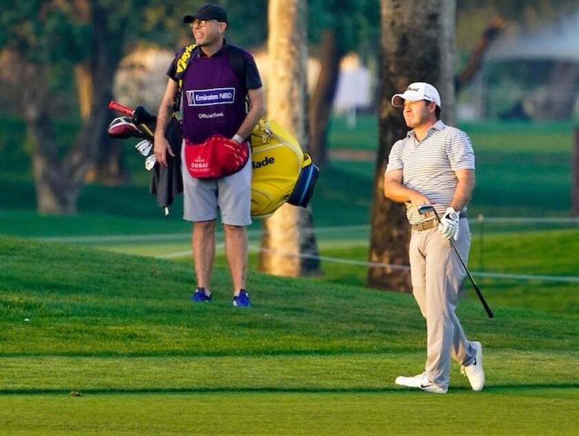 Richard Sterne 1st round 2021 Omega Dubai Desert Classic