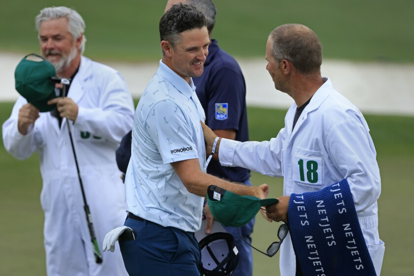 Justin Rose leads first round 2021 Masters