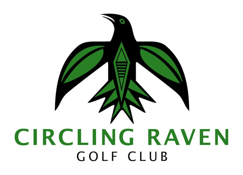Circling Raven Golf Club new logo