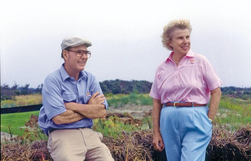 Pete and Alice Dye | Kiawah Island Resort | Ocean Course