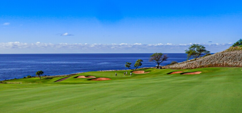 Four Season Resort Lanai's Manele Golf Course — Hole No. 11