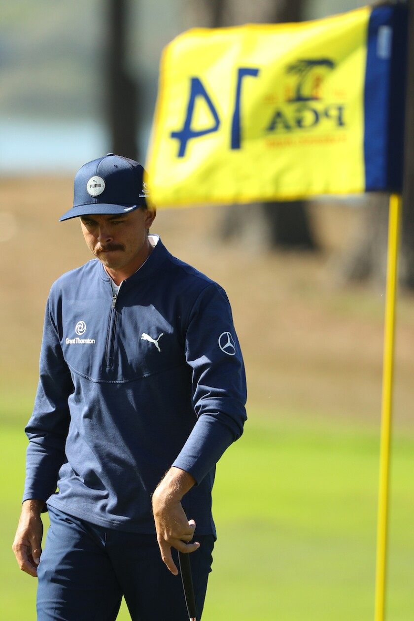 Rickie Fowler 2020 PGA Championship 2nd round