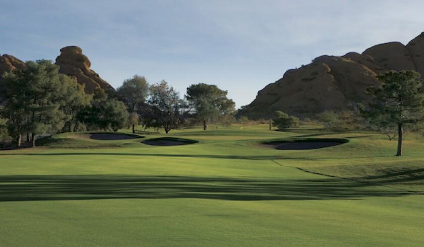 Papago Golf Course, Hole No. 18   Par 4