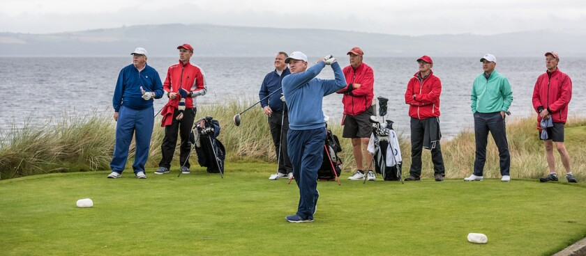 Round One at Castle Stuart Golf Links