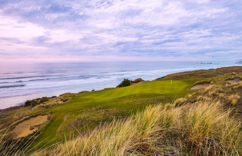 Bandon Dunes, Pacific Dunes' par-3 11th