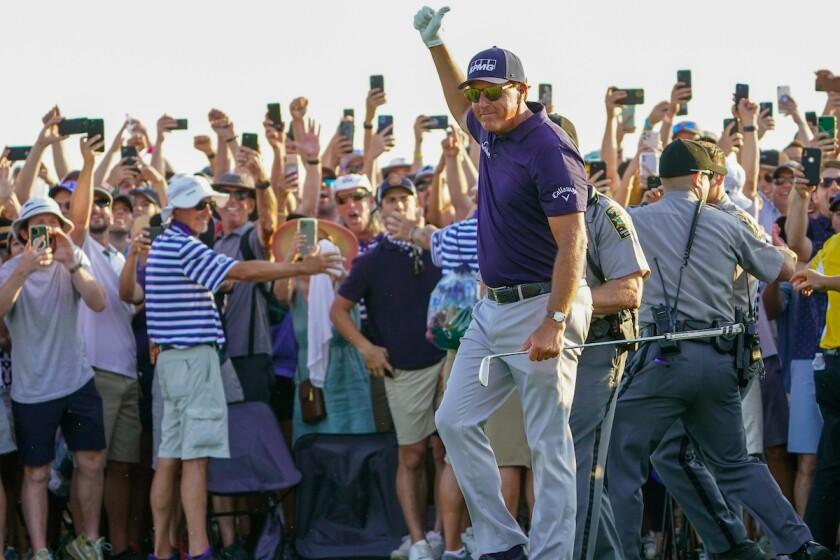 Phil Mickelson wins 2021 PGA Championship