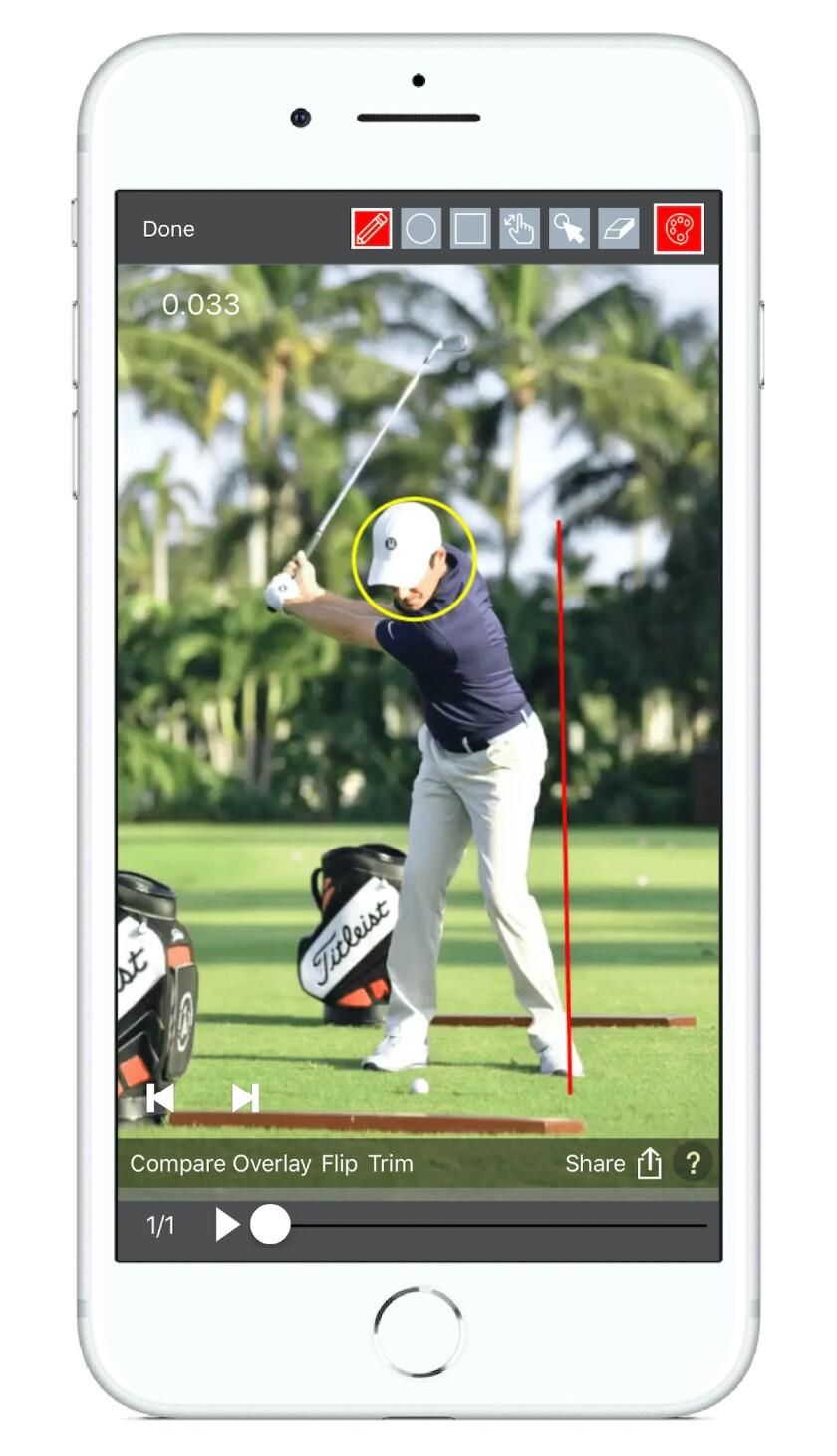 V1 Sports golf analyzer