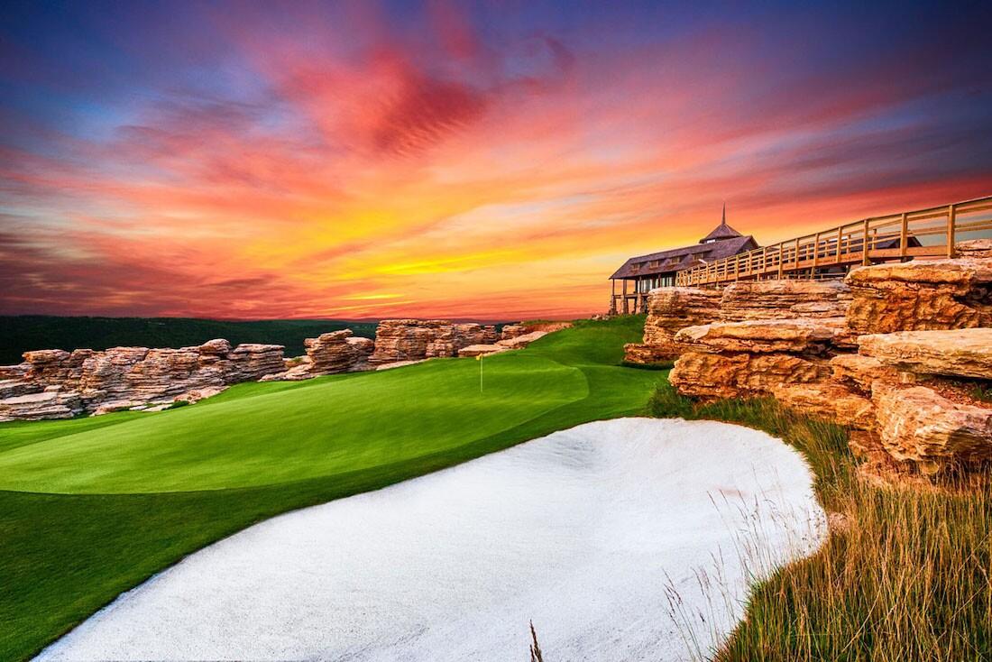 Big Cedar Lodge, Mountain Top Golf Course