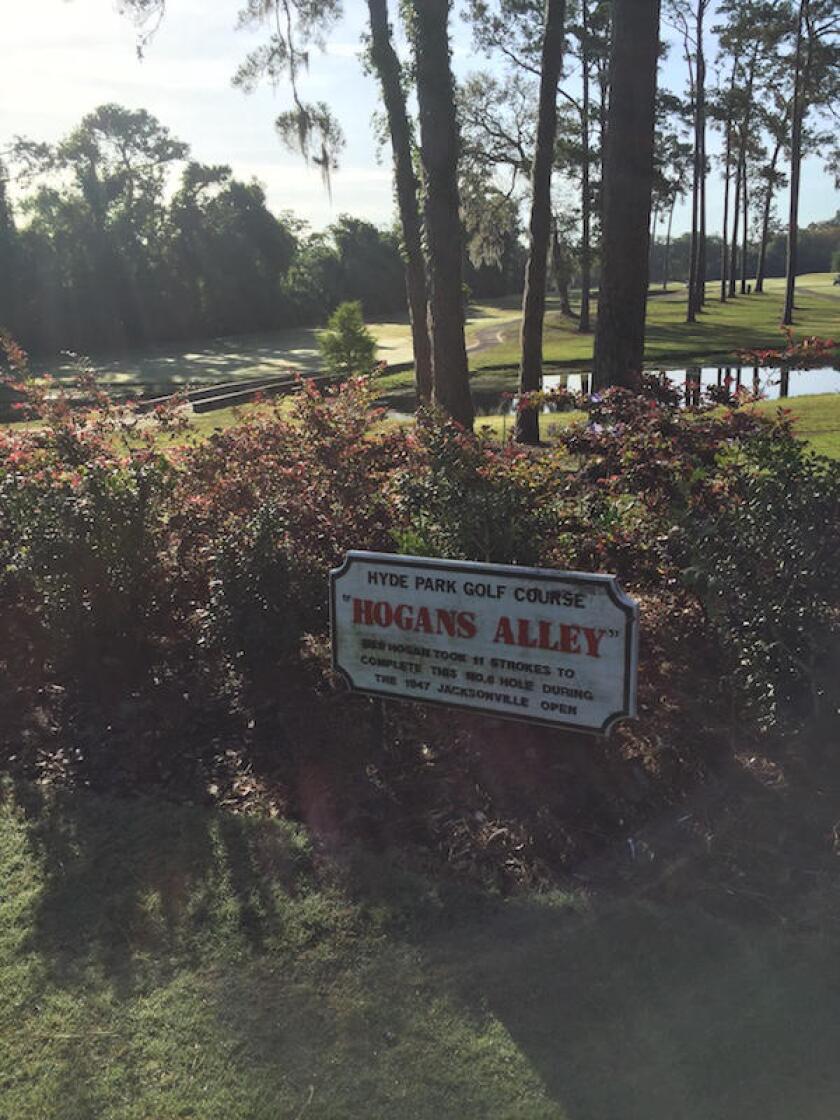 Hyde Park Golf Club, Hogans Alley