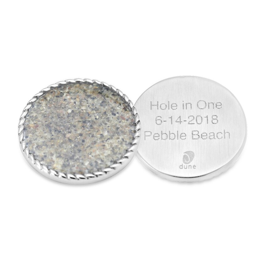 Dune Jewelry Golf ball marker front and back.jpg