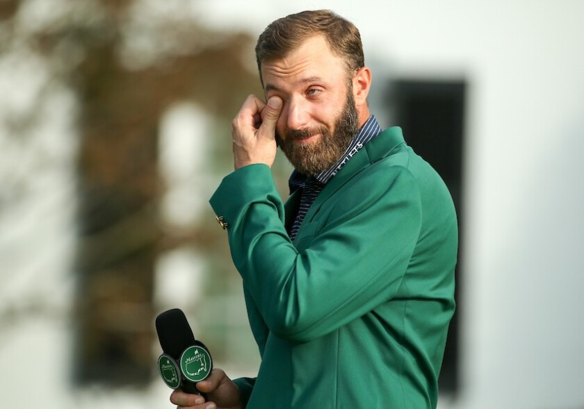 Dustin Johnson wins 2020 Masters