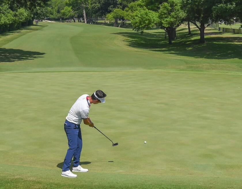 Kevin Na 2018 Fort Worth
