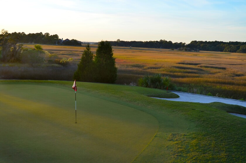 Sea Pines Country Club — Hole No. 18