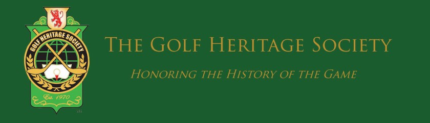 Golf Heritage Society banner