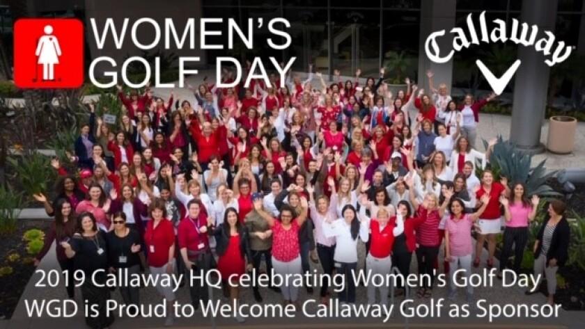 Callaway Golf headquarters celebrates 2019 Women's Golf Day