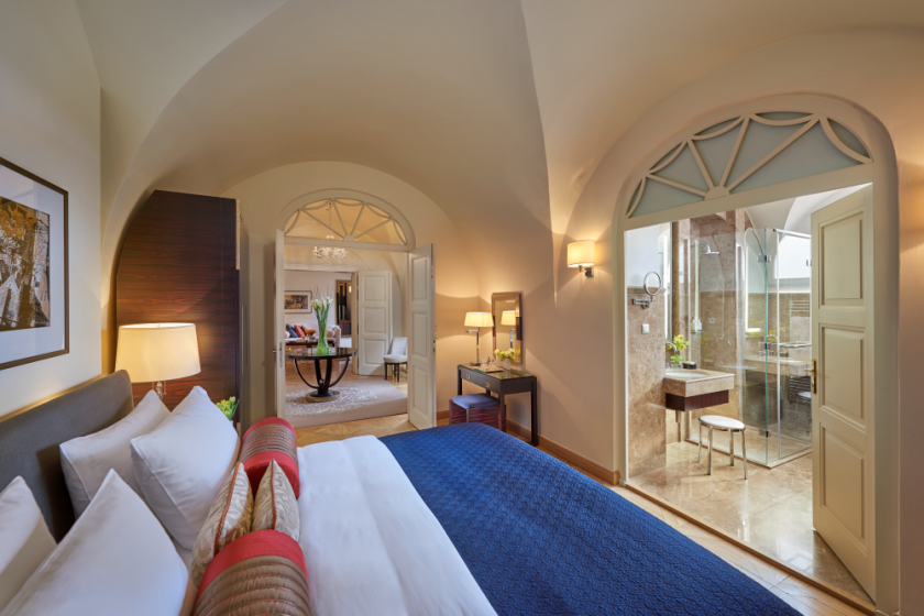Situated in a former monastery, Mandarin Oriental, Prague is a synonym for an urban hideaway.png
