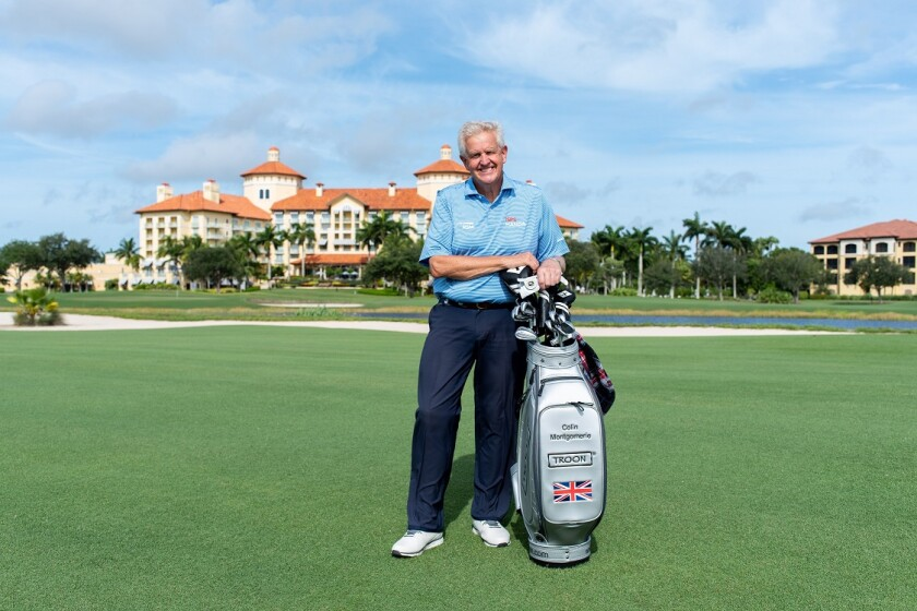 Colin Montgomerie of Team Troon