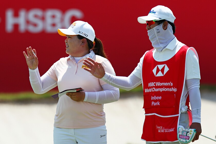 Inbee Park leads first round of 2021 HSBC Women's World Championship in Singapore