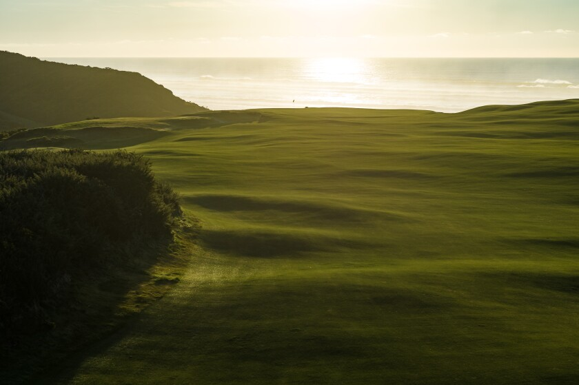 Bandon Dunes Golf Resort — Sheep Ranch — Hole No. 9