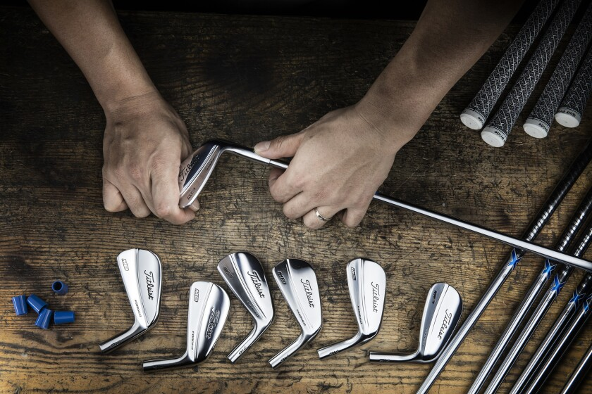 Titleist iron build