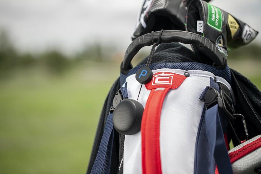 Puma Golf's PopTop Mini speaker