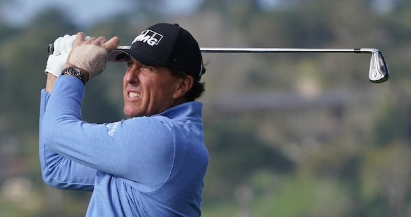 Phil Mickelson 2020 Pebble Beach