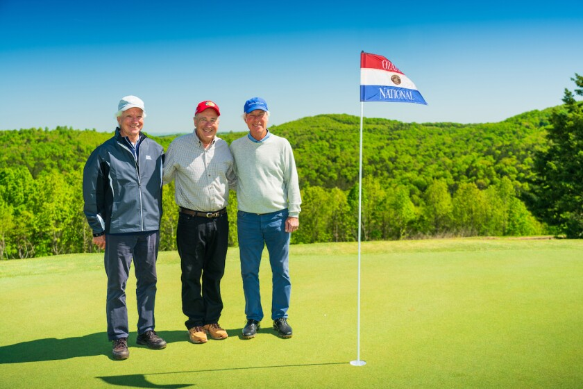 Bill Coore Johnny Morris Ben Crenshaw
