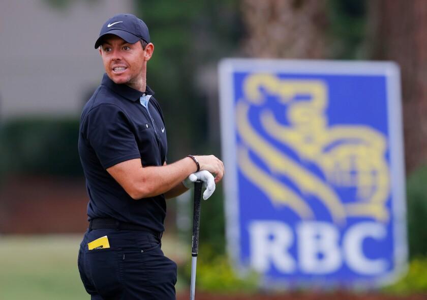 Rory McIlroy RBC Heritage round 1