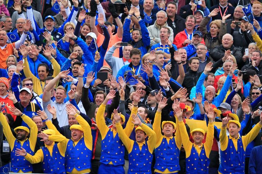 Ryder Cup fans 2014 Gleneagles